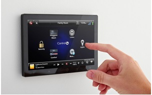A-tablet-for-controlling-home-appliances