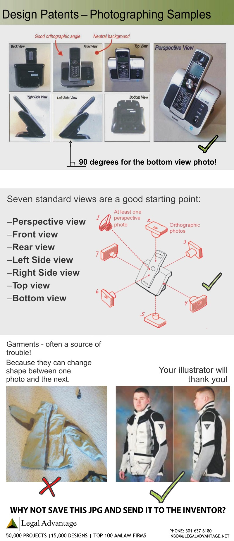 design patent photo tips