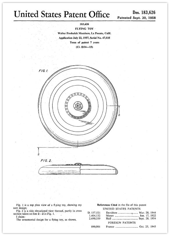 frisbee design